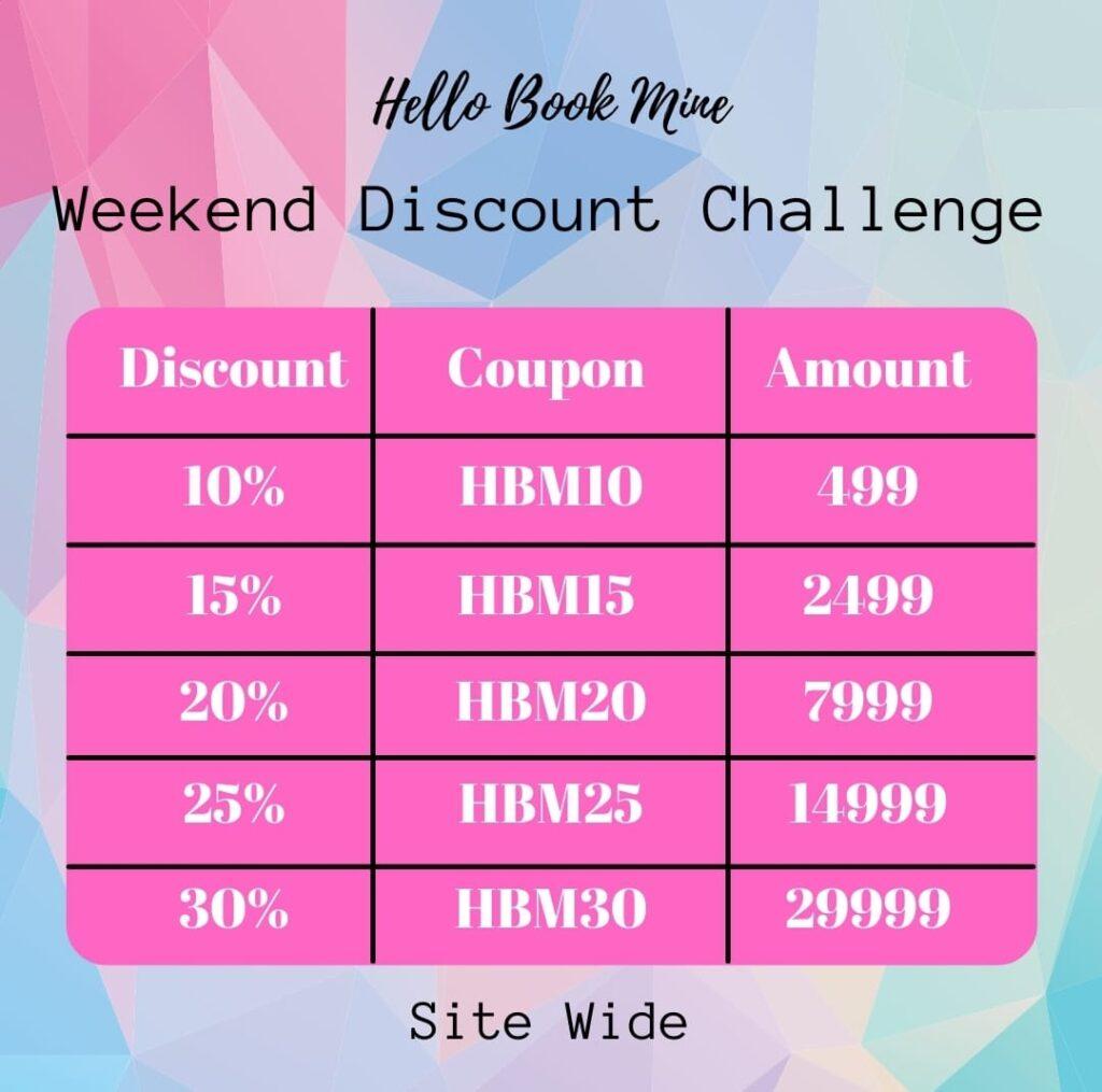 Hello Book Mine - Site Wide Discount