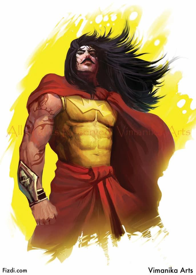 Karna - Vimanika Comics