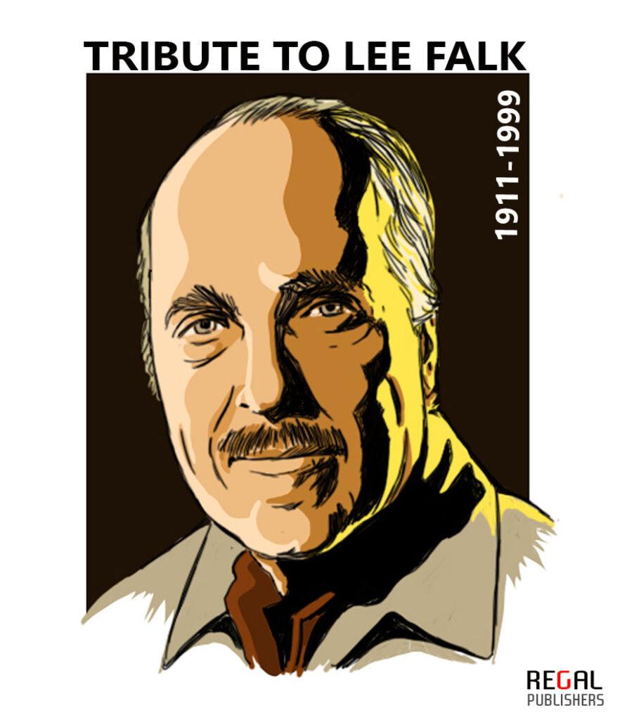 Lee Falk - Creator Of The Phantom & Mandrake - Regal Comics