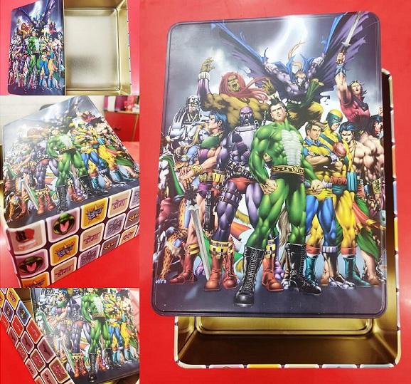 Premium Tin Box - Raj Comics Universe