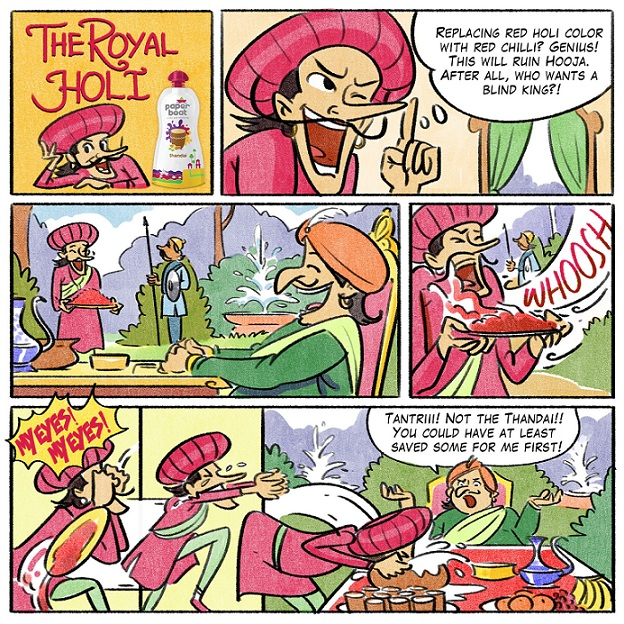 The Royal Holi - Tinkle Comics Studio
