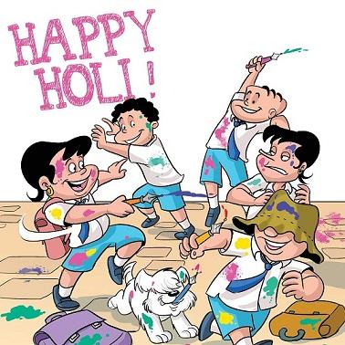 Tinkle Toons - Happy Holi