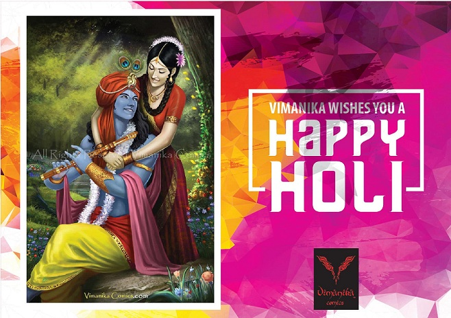 Vimanika Comics - Happy Holi