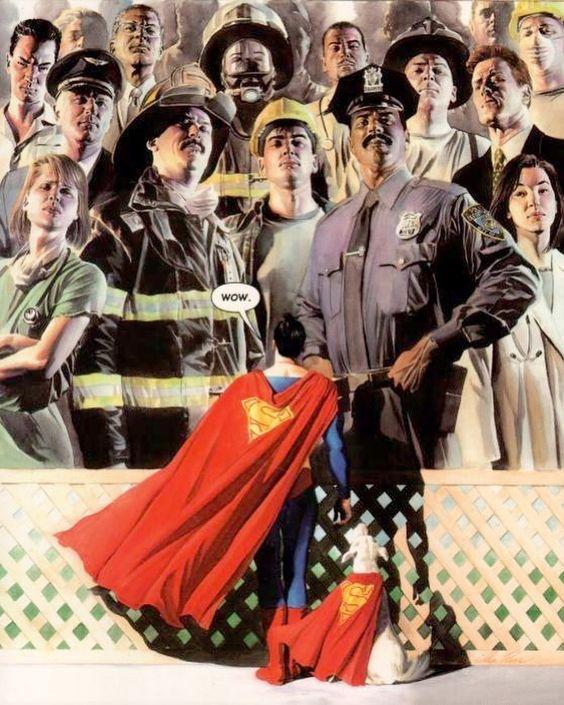 Alex Ross - 9-11 - Superman - DC Comics