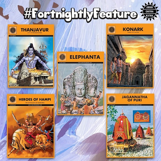Amar Chitra Katha Comics - Temples Of India