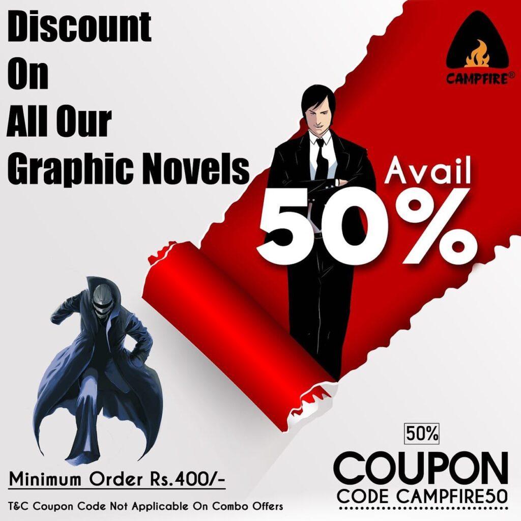 Campfire Graphic Novels - 50 Percent Off