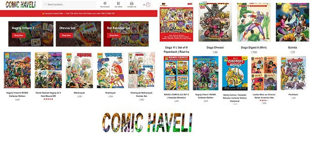 Comic Haveli - Comic Book Shop