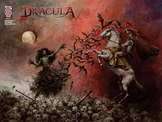 Dracula - The battle of three kings - Bullseye Press - Cover