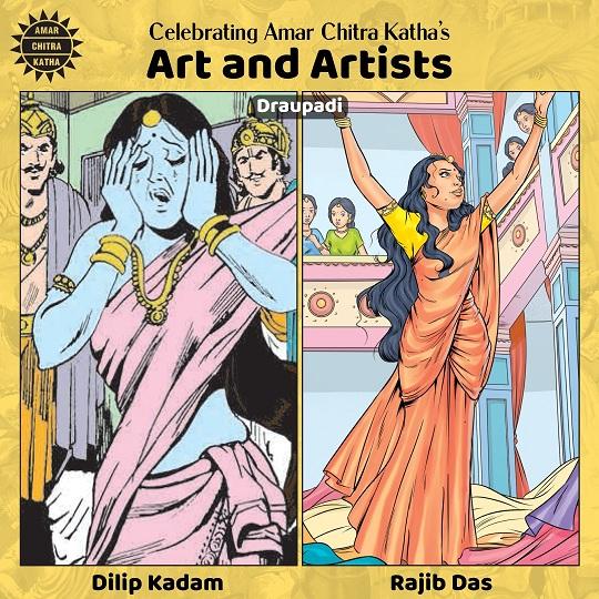Draupadi - Dilip Kadam And Rajib Das