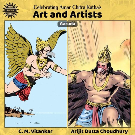 Garuda - C M Vitankar and Arjit Dutta Choudhury