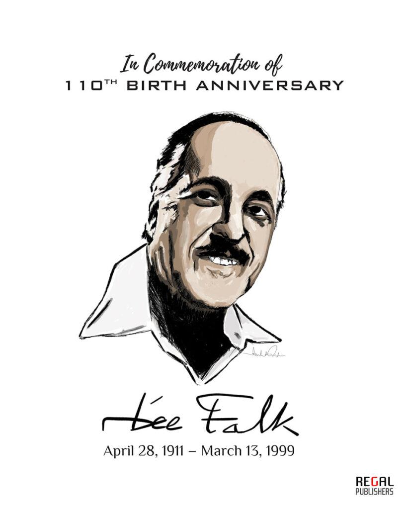 Lee Falk 110th Birth Anniversary - Regal Comics
