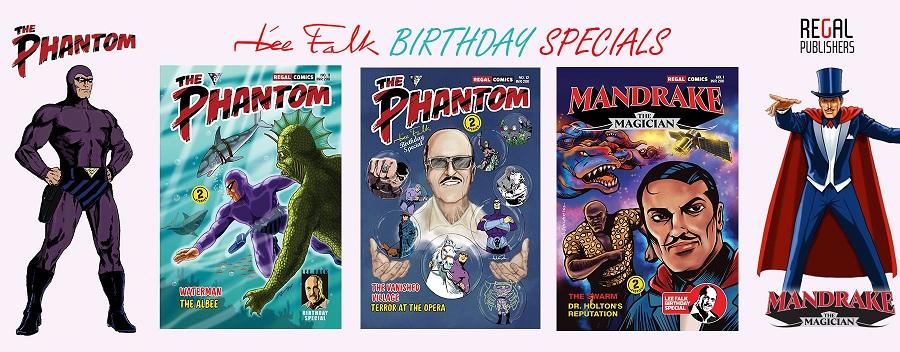 Lee Falk Birtdhay Specials - Regal Comics