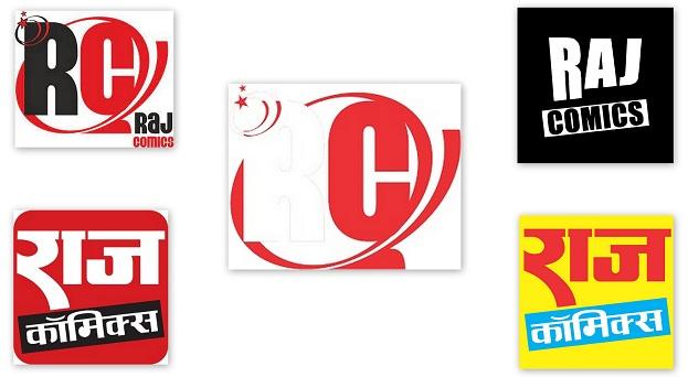 Raj Comics Logo