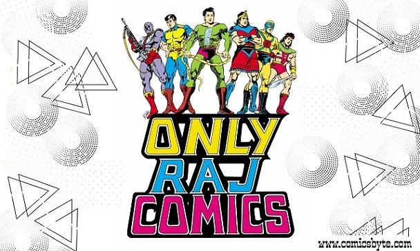 Raj Comics Vintage Ads
