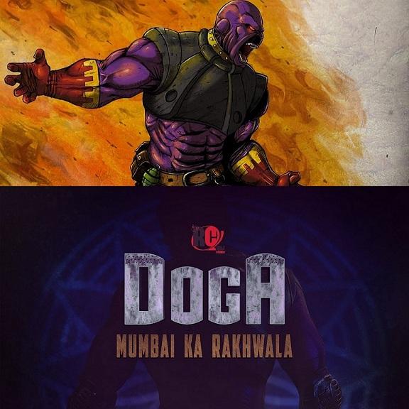 Doga - Mumbai Ka Rakhwala - Raj Comics