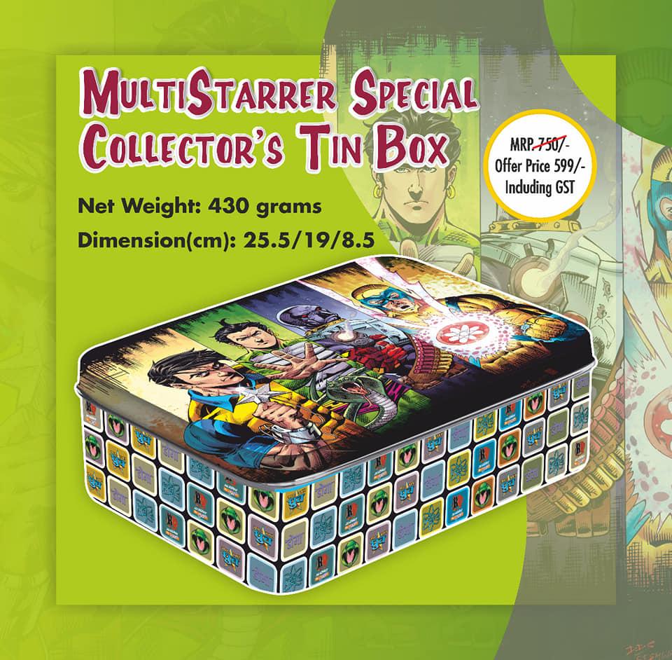 Multistarrer Special Collectors Tin Box