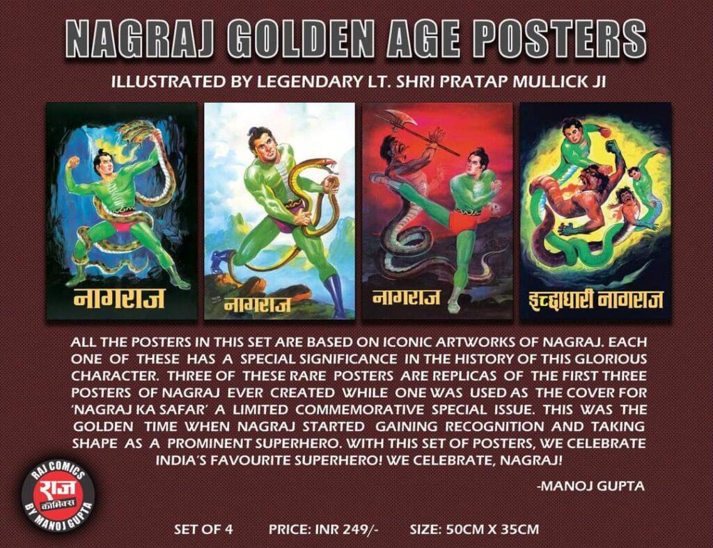 Nagraj Golden Age Posters - Pratap Mullick