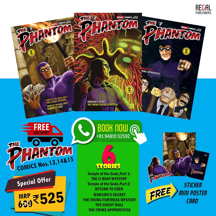 Phantom - Regal Publishers - Comics