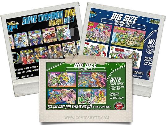 Raj Comics Special Set - Big Size - 2 IN 1