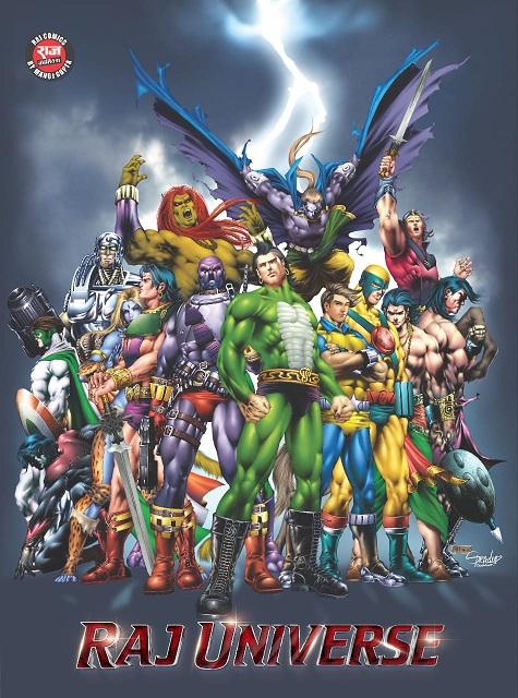 Raj Comics Universe - Poster