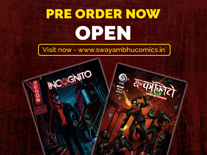 Swayambhu Comics - Pre Order