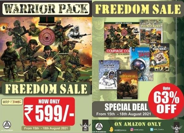 Aan Comics - Freedom Sale