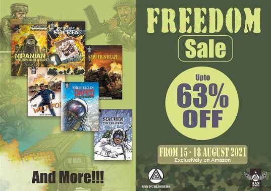 Aan Comics Freedom Sale
