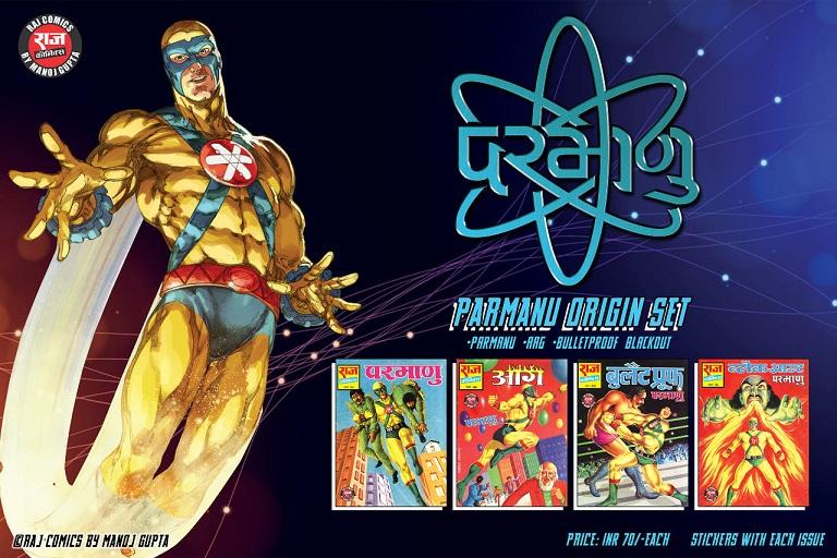 Parmanu Origin - Raj Comics