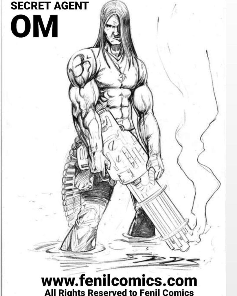 Secret Agent OM - Fenil Comics