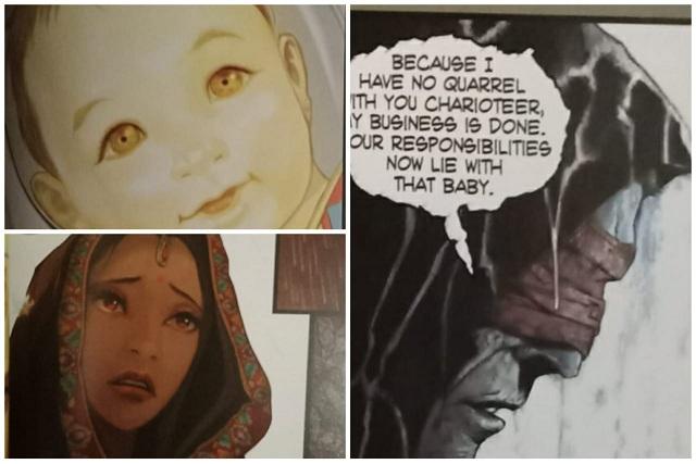Devasharad - Fluid Comics  - Artwork
