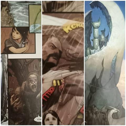 Devasharad - Fluid Comics  - Internal Pages