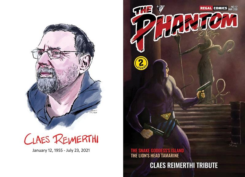 The Phantom - Regal Comics - CLAES REIMERTHI TRIBUTE