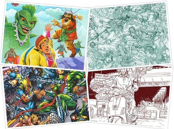 Raj Comics - Bankelal - Nagraj