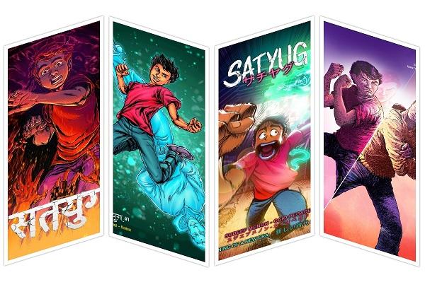 Satyug - Swayambhu Comics - Covers