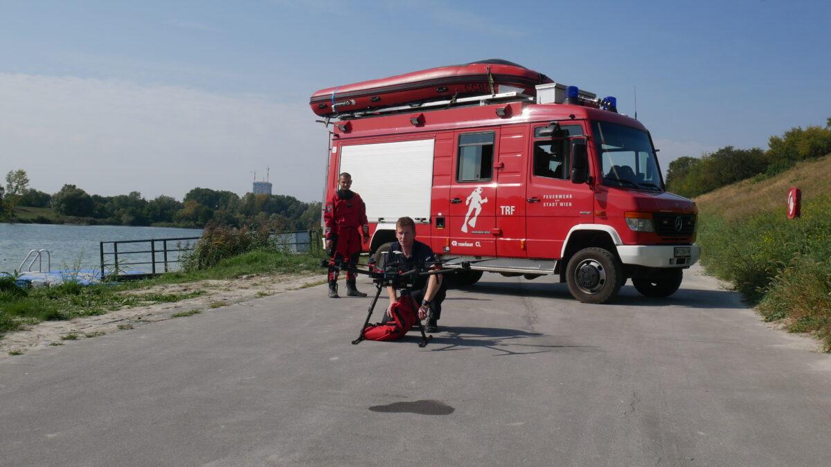 Rescue Drone Vienna City