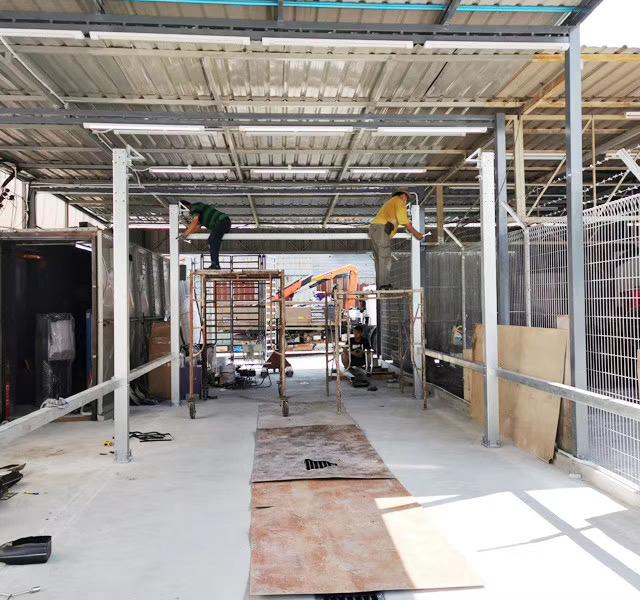 Leisuwash 360 installation in Malaysia