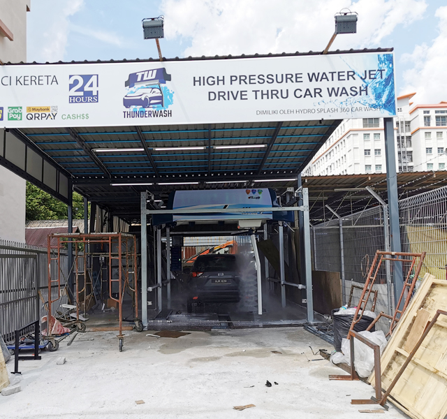 Thunder wash Malaysia