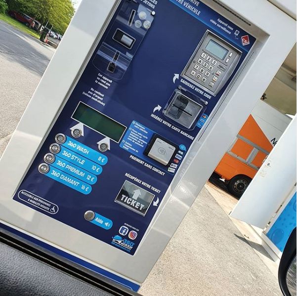car wash payment system