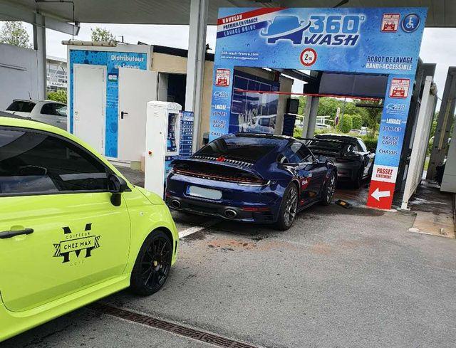 ligne de lavage de voiture