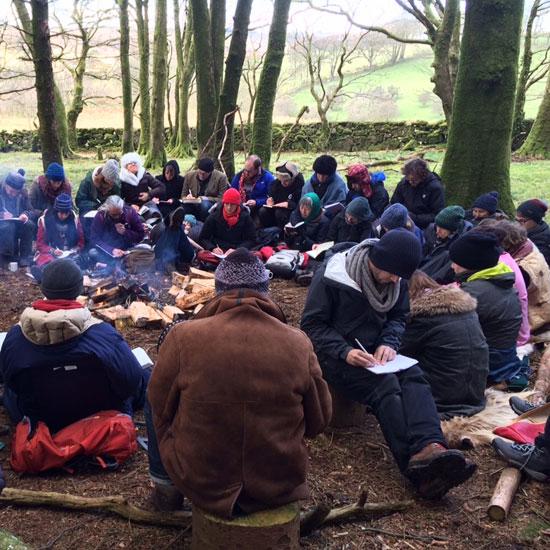 School of Myth Hedge School, Writing Around the Fire