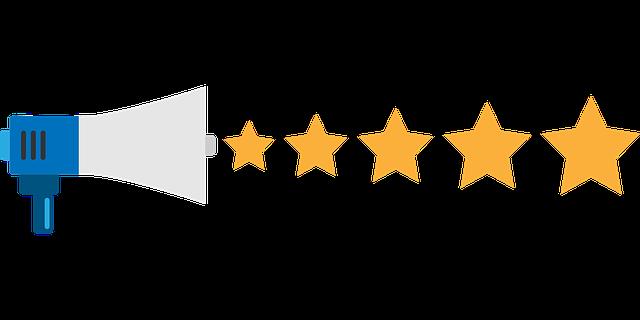 Feedback Stars Rating Megaphone