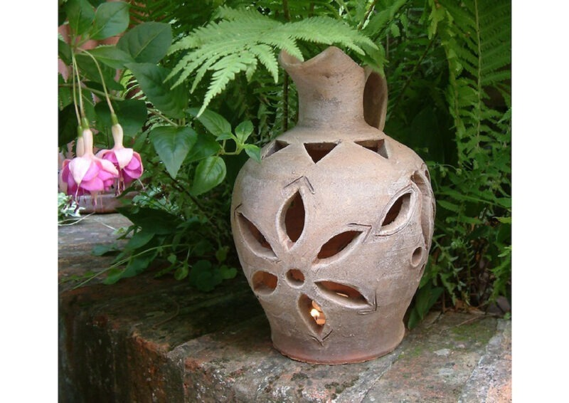 Candle Lamp jug from The Cretan Pot Shop Rugby Warwickshire
