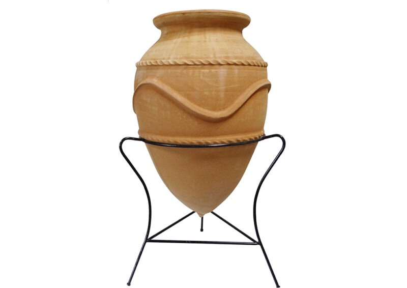 conical pot from The Cretan Pot Shop Rugby Warwickshire