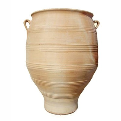 Pithari terracotta pot from The Cretan Pot Shop Rugby Warwickshire