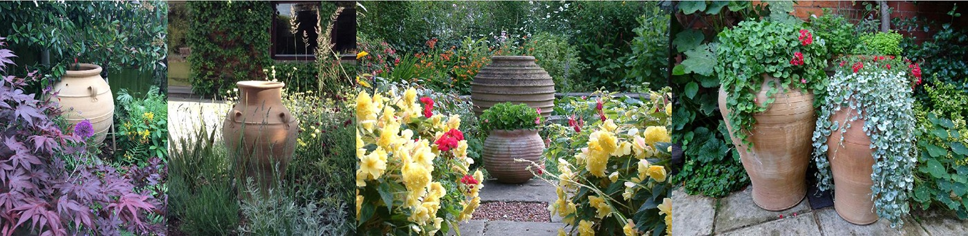 Uks Finest Collection of Mediterranean Terracotta Pots and Urns - perfect for your garden design