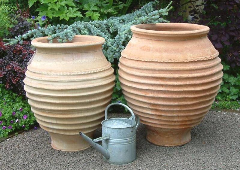 Zara terracotta pot from The Cretan Pot Shop Rugby Warwickshire