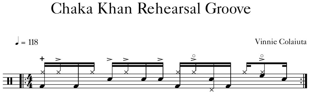 Chaka Khan Rehearsal Groove (new)