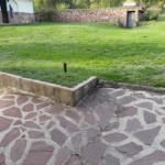 jardín area piscina