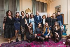 Η Κριτική Επιτροπή και GIWA Committee, Σοφία Κωνσταντοπούλου, Νάγια Μπολτέτσου, Ιωάννα Πασχαλίδου, Φωτεινή Βογιατζή, Μαρία Σαραντοπούλου, Ηρώ Κουτσιούμπα, Σόνια Χειμώνα, Λίζα Κορομηλά, Μαρία Χατζιασλάνη και ΜαιρηΚαίτη Μαργιούκλα