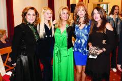Gina Thanopoulou, Anna Poulou, Nickie Paximadaki,  Georgia Siakavara, Kyveli Liaskou